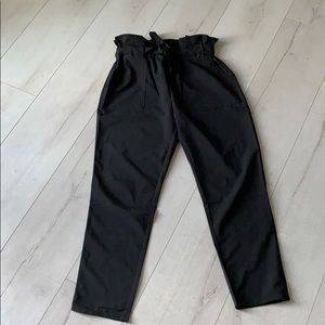 High waist pants with 2 lateral pocket
